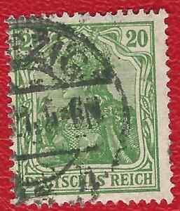 DEUTSCHES-REICH-966-MI-NR-143-b-GESTEMPELT-NEU-GEPRUFT-INFLA-Weinbach