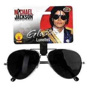 8d55b1a35c3 Image is loading Michael-Jackson-Sunglasses-Glasses-Pop-Star-Aviator- Halloween-