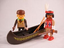 e114 brown background of canoe 3397 3733 Playmobil indian