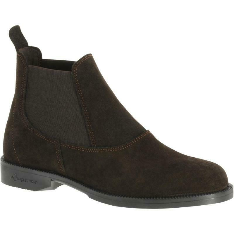 BEST PRICE  Classic Adult Horse Riding Leather Boots - Brown