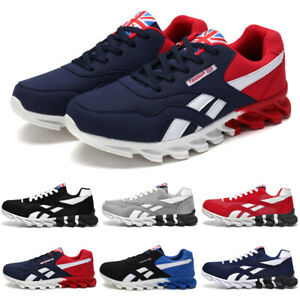 Men's Running Trainers Casual Sports Tennis Sneakers Athletic Fitness Gym Shoes