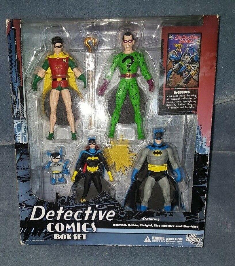DC Comics BATMAN Detective Comics Box Set 5 Figures Bat-Mite Rare