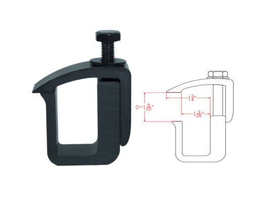 Mounting C-Clamp for Truck Cap Camper Shell Topper Pickup Truck Set of 4
