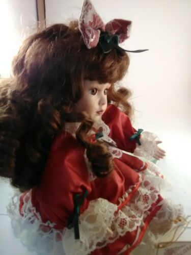 made with bisque porcelain Details about  /Soft Expressions porcelain collectable doll handcra