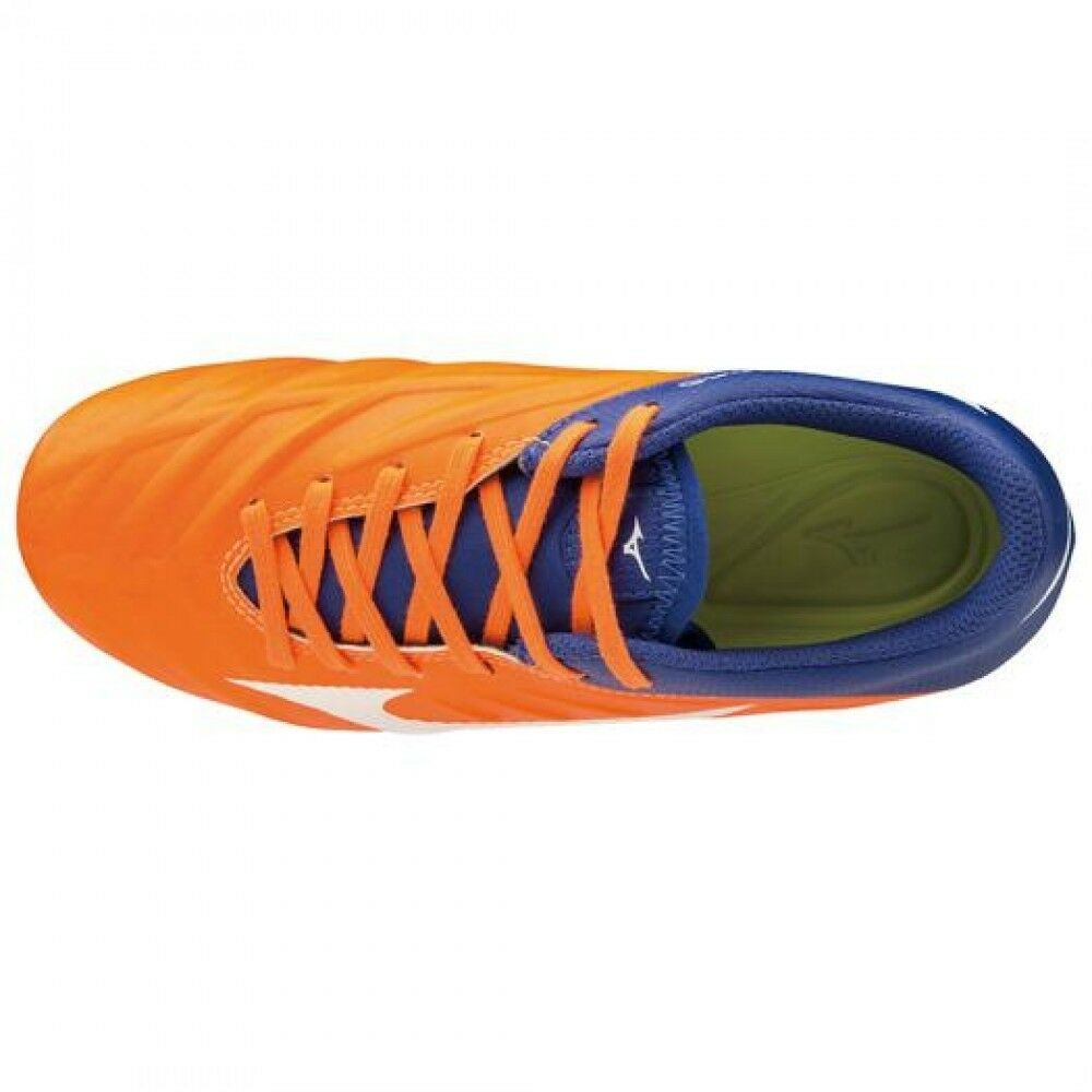 Mizuno Soccer REBULA Schuhes Spike REBULA Soccer 2 V3 Junior P1GB1975 Orange × Weiß × Blau 4cd589
