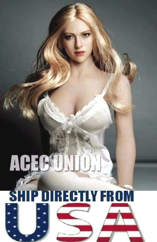 1 6 Amanda Seyfried Head Sculpt KIMI TOYS KT004 For HotToys Phicen U.S.A. SELLER