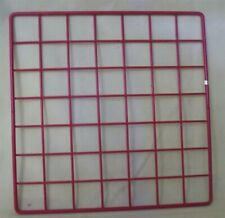 Store Display Fixtures 6 New Grid Cube Panels 10 X 10 Red