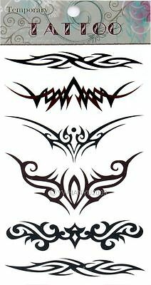 Unisex DIY Wing Pattern Removable Waterproof Temporary Tattoo Body Art Stickers