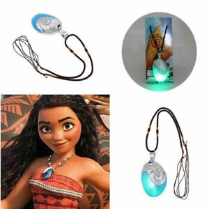Princess-Moana-Cosplay-Necklace-Pendants-props-the-heart-of-Te-Fiti-Music-amp-Light