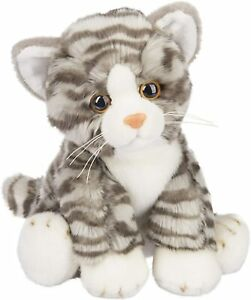 Ganz E1 Baby Heritage Collection Grey Tabby Cat 12in Plush Stuffed Toy H14512