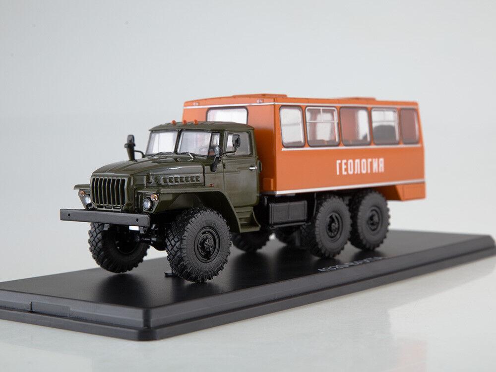 Scale model 1 43 rossoational bus NEFAZ-42112 (4320)