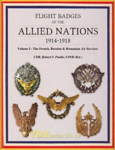 Pandis-Flight-Badges-Allied-Nations-1914-1918-Vol-1-Deutsche-Fliegerabzeichen