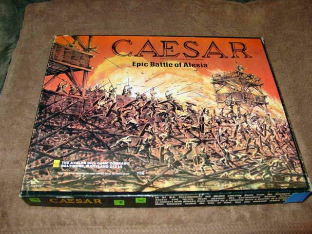Avalon  Hill 1976 - CAESAR - Epic Battle of Alesia Rome's guerras (UNPUNCHED)  il più recente