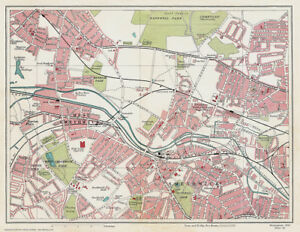 Smethwick area - Birmingham 1939 Series, Map 6 (of 24) - Large ...
