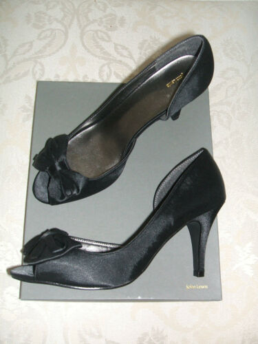 RRP £55 BNWB SIZE 3 6 7 JOHN LEWIS IVORY BLACK OPAL OCCASION WEDDING PARTY SHOES