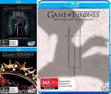 Game Of Thrones Season 1, 2 & 3 : NEW Blu-Ray