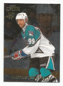 1996-97-Fleer-Flair-59-Wayne-Gretzky-New-York-Rangers