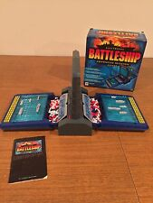 2000 Milton Bradley Electronic BATTLESHIP Advanced Mission Game COMPLETE & WORKS