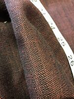 Laura Ashley Black Red Tweed Canvas Weave Curtain Upholstery Fabric 26 Metre 54