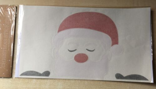 Entièrement neuf sous emballage NEUF Noël Autocollants-Père Noël//Père Noël