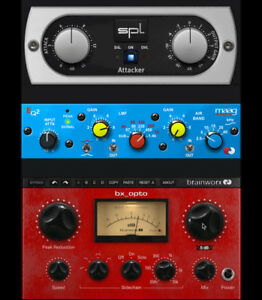 Details about PLUGIN ALLIANCE Brainworx bx_opto SPL Attacker Maag EQ2  Bundle VST AU OSX PC