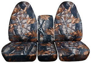 Camouflage Bench Seat Covers Trucks
