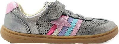 GIRLS CLARKS FLASH BRIGHT T  RIP TAPE SHOES