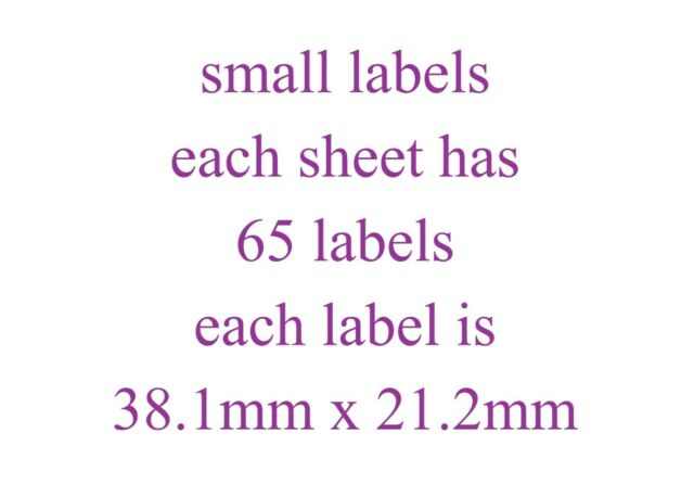 Bunny Rabbit Large Sticky White Paper Stickers Labels NEW