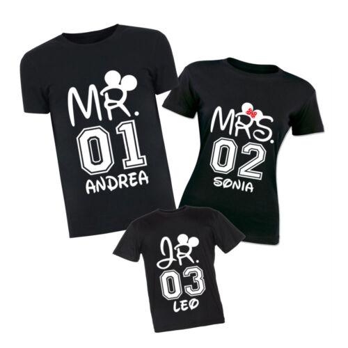 Personalizzate Figli T shirt Madre Magliette Tris Figli T Personalizzate Di Padre shirt Madre Tris Di Padre Magliette q4xFaw