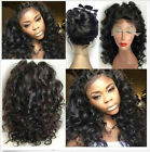 Hot Glueless Brazilian full lace wigs Human Hair lace front Wig With Baby Hair