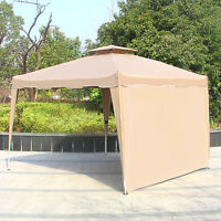 1pc Gazebo Wall Side Canopy Wind Sun Shade Privacy Panel Curtain Replacement