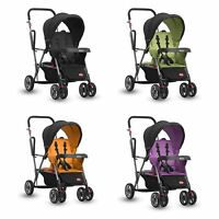 Joovy Caboose Sit And Stand Stroller Pram Infant Baby Toddler Travel Compact