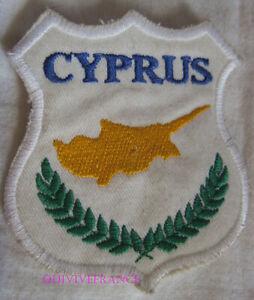 In12556 - Insigne Tissu Patch NationalitÉ Chypre Uomw7o0g-07232106-898287482