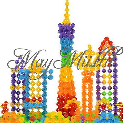 118pcs Children Kids Toys Gift Building Construction Plastics Puzzle Toy J
