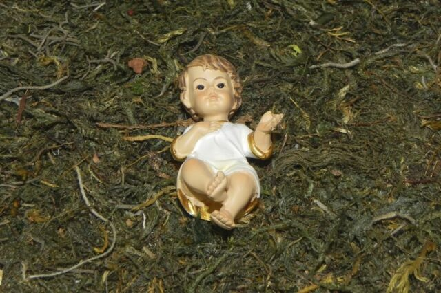 Baby Jesus Nativity Set Figurine Presepio Creche Pesebre Manger Scene