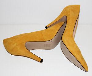 TOPSHOP New Mustard Yellow Shoes Heels Pumps Size 38 US 7   eBay