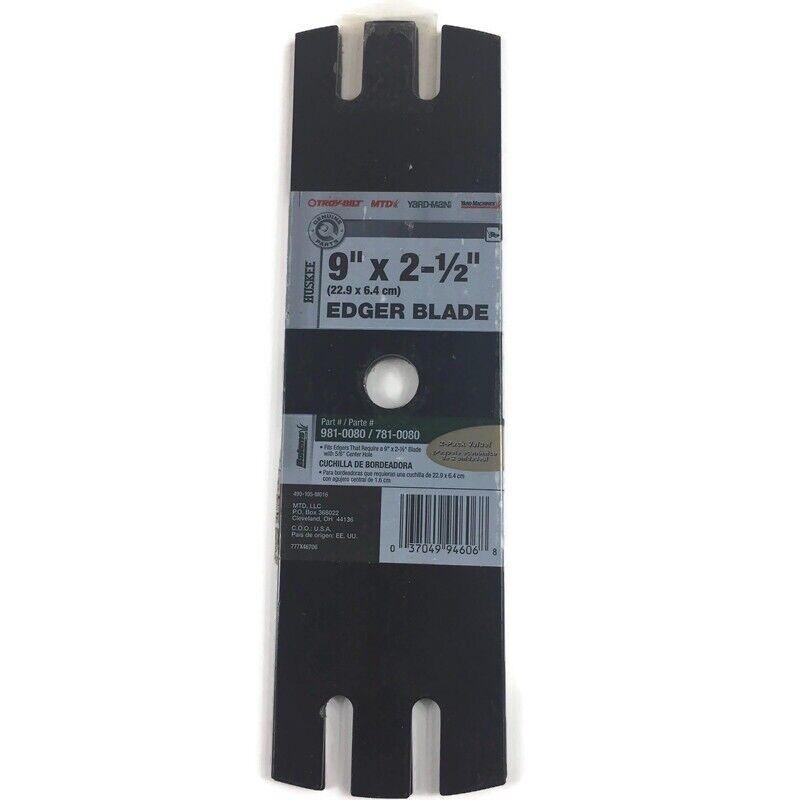 Pack Of 5 Oregon 40-316 Edger Blade for MTD 781-0080