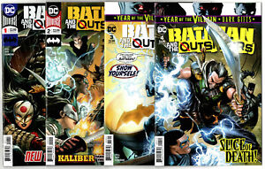 DC VF//NM to NM Batman And The Outsiders #4 2019