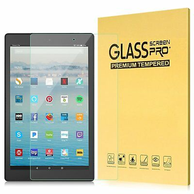TEMPERED GLASS SCREEN PROTECTOR FOR ALL NEW AMAZON KINDLE FIRE 10 2017 TABLET