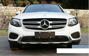 Mercedes benz glc x253 2016 front fog lamp light cover for Mercedes benz glc 300 accessories