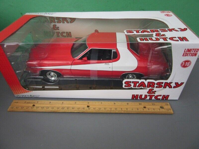 Starsky & Hutch 1 18 Diecast Car 1974 Gran Torino MIB Ltd. Edition-verdelight