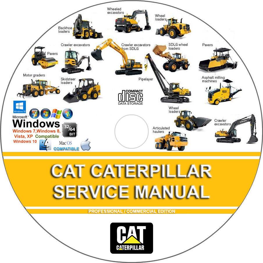 Cat Caterpillar Excavator M312 6tl Service Repair Manual On Cd Ebay