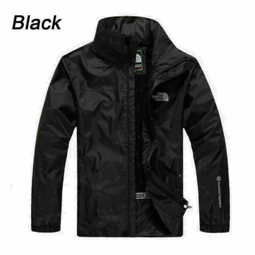 Mens Waterproof  Jacket Coat Soft Shell Military Mountain Outdoor Hiking Jackets