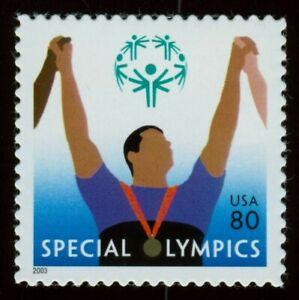 #3771 80c Especial Olimpiadas, Nuevo Cualquier 5=