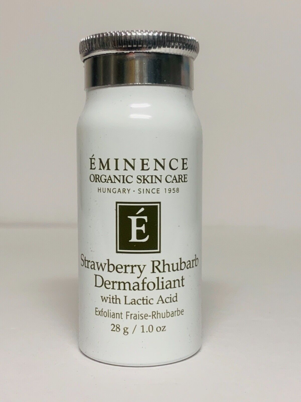 Eminence Organic Skin Care Strawberry Rhubarb Dermafoliant 28g/1 oz Travel Size 2