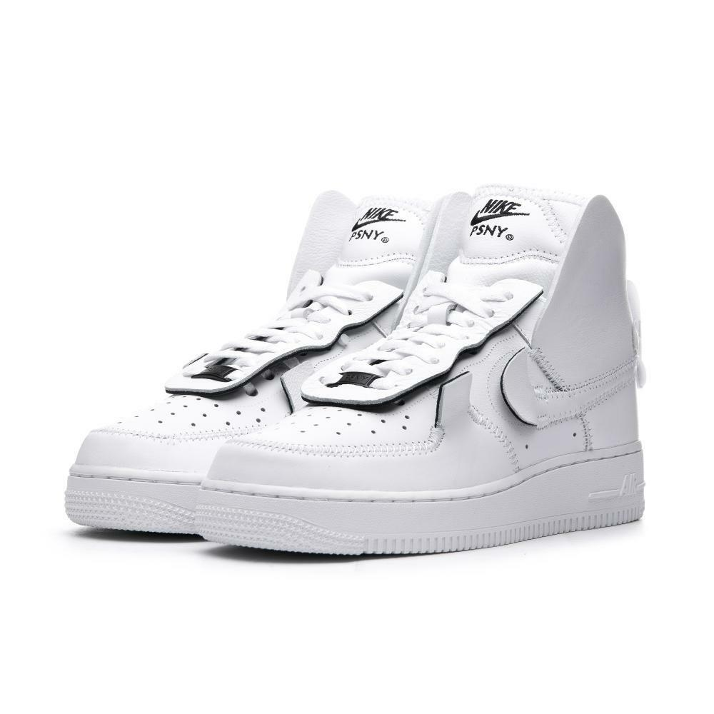 AIR FORCE 1 HIGH PSNY bianca Triple Public School New York QS DS Rare AO9292-101