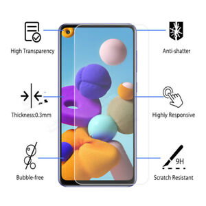 Tempered Glass Screen Protector For Samsung A12 A32 A42 A52 A72 J3 J5 J7 A3 A5
