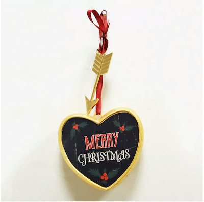 """Consciente De Sí Mismo """"merry Christmas"""" Art A Gram Wall Decor - Collectible Hearts Promoviendo La Salud Y Curando Enfermedades"""