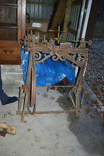 Antique  H.L. SHEPARD Co. Cast Iron Treadle LATHE Tool Cincinnati Oh. 1800's