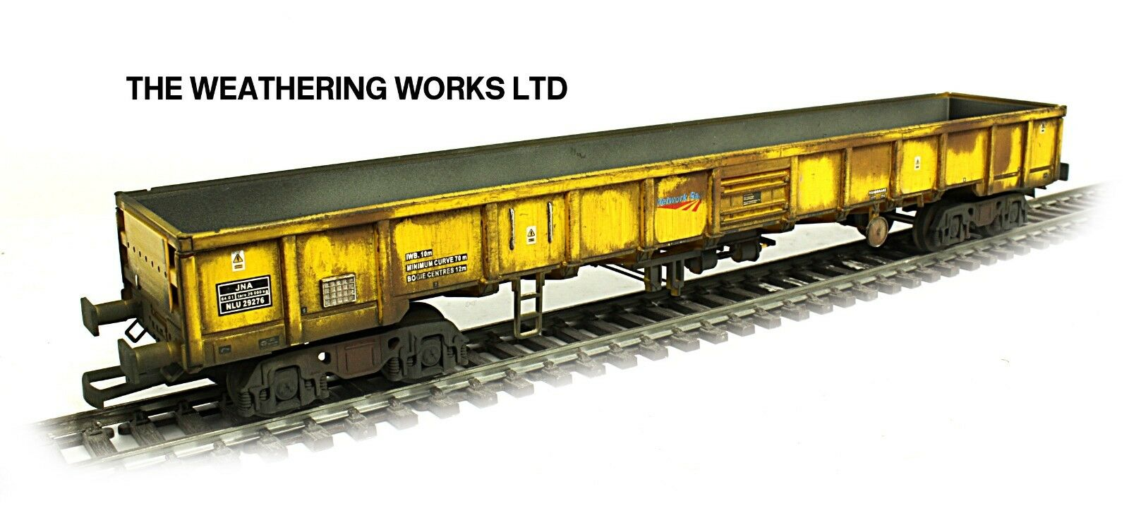 Dapol JNA Falcon Network Rail Engineers Departmental Open wagon WEATHERED LOOK